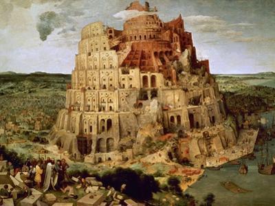 The Tower of Babel by Pieter Bruegel the Elder