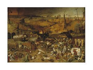 The Triumph of Death, Ca 1562-1563 by Pieter Bruegel the Elder