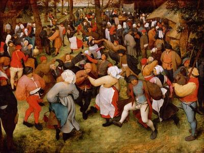 The Wedding Dance C1566 Oil On PanelPieter Bruegel Elder