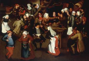 The Wedding Dance by Pieter Bruegel the Elder