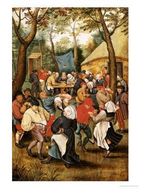 The Wedding Feast by Pieter Bruegel the Elder