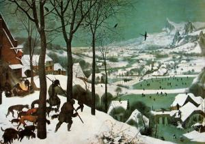 Winter (Hunters in the Snow) by Pieter Bruegel the Elder