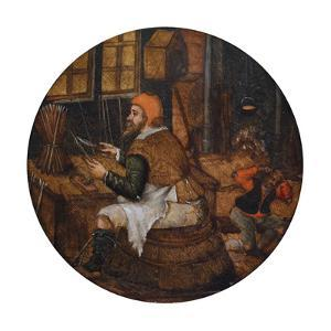 Arrow Maker by Pieter Brueghel the Younger
