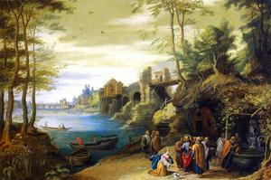 Christ by Pieter Brueghel the Younger