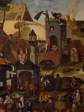 Netherlandish Proverbs, 1559 by Pieter Brueghel the Younger