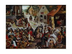 The Seven Works of Mercy by Pieter Brueghel the Younger