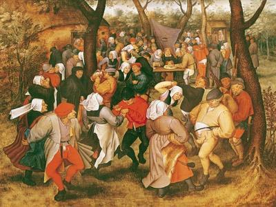 The Wedding Dance, 1607