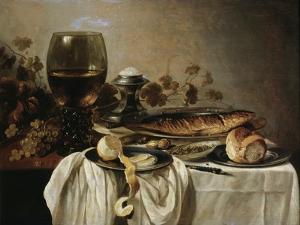 Breakfast, 1646 by Pieter Claesz