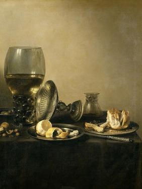 Still Life, 1637 by Pieter Claesz