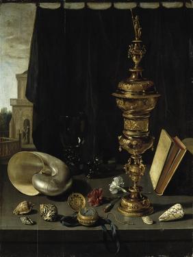 Still-Life With Goblet by Pieter Claesz