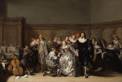 An Elegant Company, 1632 by Pieter Codde