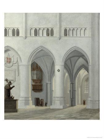 Interior of the Church of St. Bavo, Haarlem, 1630