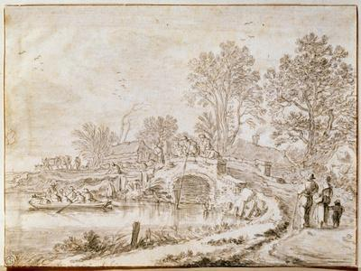 Bridge over a Channel (Month of Ma), 1656