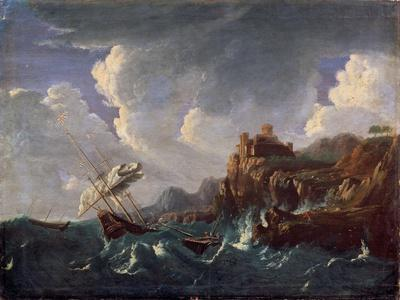 Stormy Sea, 17th Century
