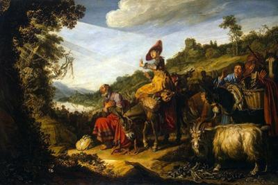 Abraham on the Road to Canaan, 1614 by Pieter Pietersz Lastman