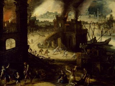 Burning of Troy, 1603