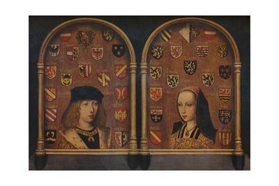 'Diptych: Philip the Handsome and Margaret of Austria', c1493