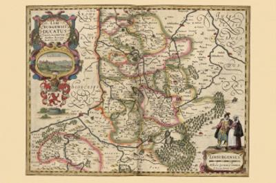 Limburg by Pieter Van der Keere
