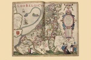 Netherlandic Lion by Pieter Van der Keere
