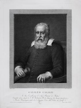 Galileo Galilei by Pietro Bettelini