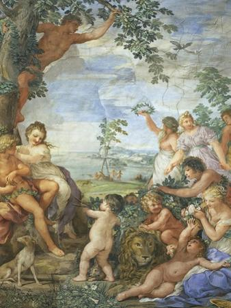 Golden Age, Detail from Four Ages of Man, 1637-1641 by Pietro da Cortona