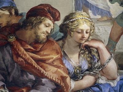 Italy, Florence, Palazzo Pitti, Stove Room in Palatine Gallery by Pietro da Cortona