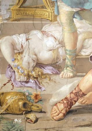 The Iron Age or Rather Uncontrolled Soldiery Hunts and Kills, Detail from Four Ages of Man by Pietro da Cortona
