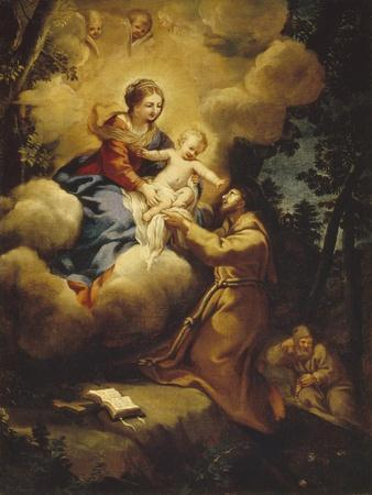 The Vision of Saint Francis, 1640S