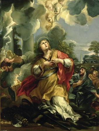 The Vision of St. Barbara