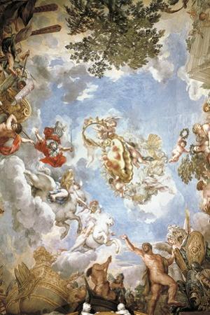 Vault Frescoed by Pietro da Cortona