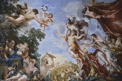 Venus, Planets Fresco Cycle by Pietro da Cortona