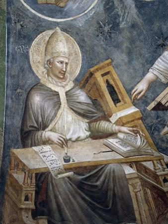 Saint Gregory the Great on Cathedra