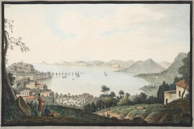 View of the Italian Coast from Near Puzzoli