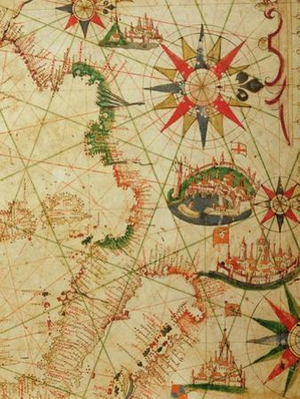 The South Coast of France, Italy and Dalmatia, from a Nautical Atlas, 1651