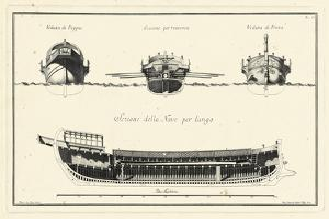 Veduta di Palmi Napoletani I by Pietro La Vega