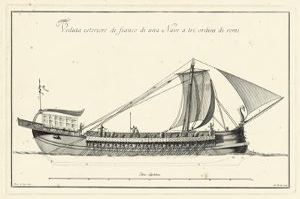 Veduta di Palmi Napoletani II by Pietro La Vega