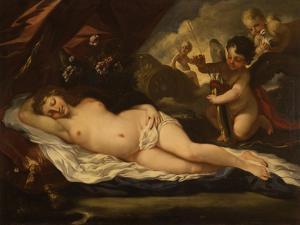 Venus with Putti, Attributed to Pietro Liberi, 1780-1799 by Pietro Liberi