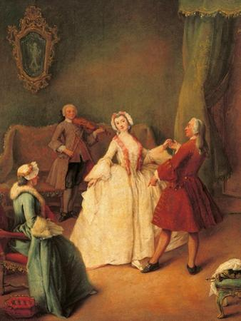 Dancing Master by Pietro Longhi