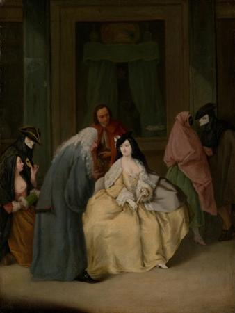 The Meeting, c.1746 by Pietro Longhi