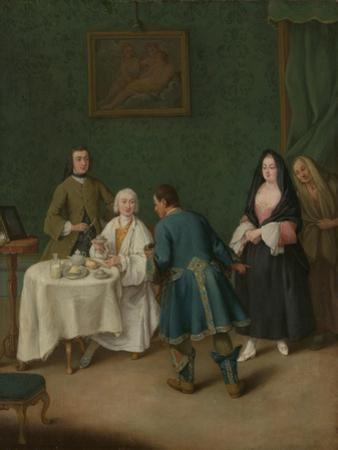 The Temptation, 1746 by Pietro Longhi