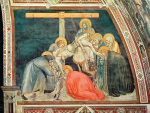 Deposition, C.1320 (Fresco) by Pietro Lorenzetti