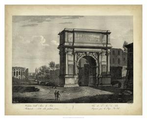 Arco di Tito by Pietro Parboni