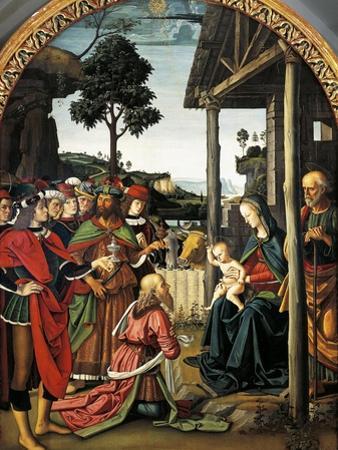 Adoration of Magi, 1476