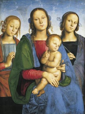 Madonna and Child with St