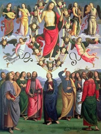 The Ascension of Christ, 1495-98 (Oil on Panel)