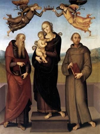 The Virgin of Loretto with Saint Jerome and Saint Francis, 1507-15