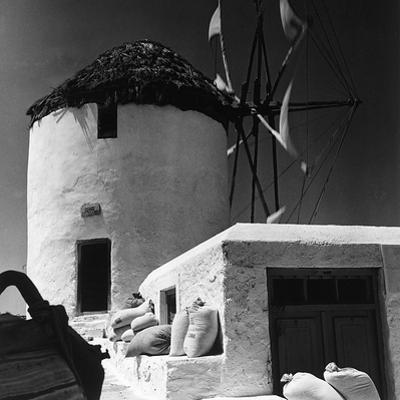 A Windmill in Greece by Pietro Ronchetti