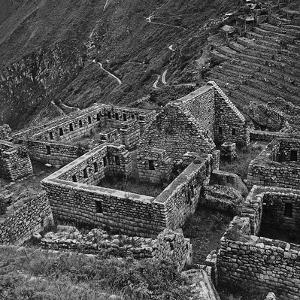 Ruins of Houses of the Lost City of the Incas, Machu Picchu, Peru by Pietro Ronchetti