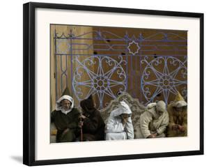 Old Men Talking, Morocco by Pietro Simonetti