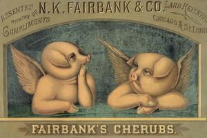 Pigs with Wings, C.1890